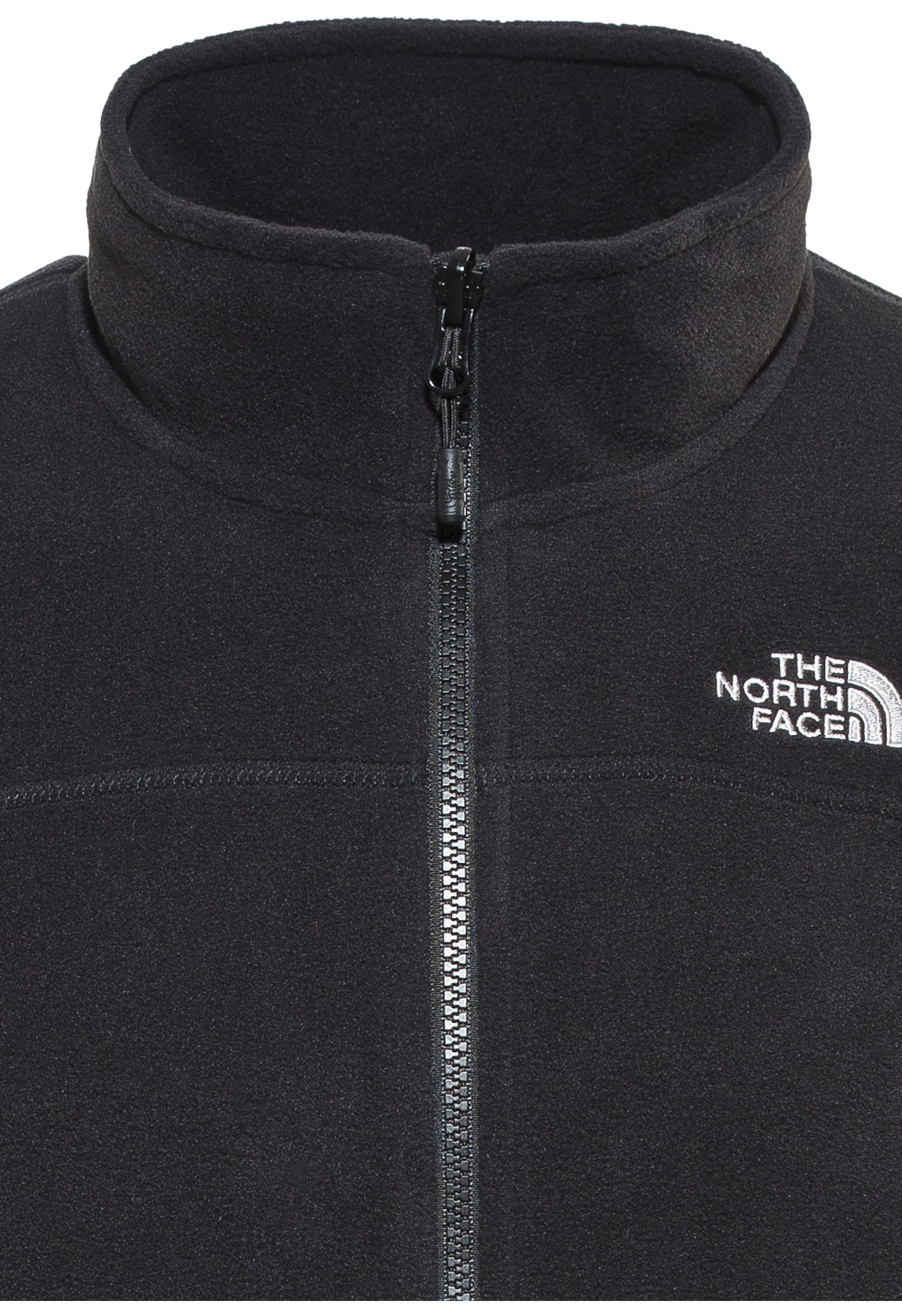 6bd99acb64 The North Face 100 Glacier Full-Zip Jacket Herren tnf black | campz.de